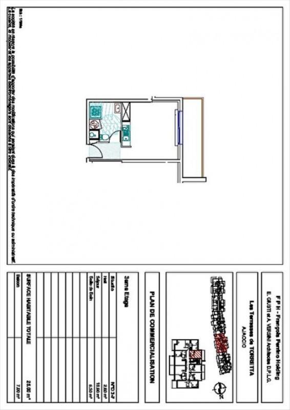 Sale apartment Ajaccio 108000€ - Picture 3