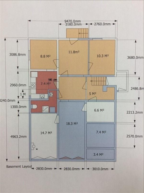 Vente immeuble Villeneuve le roi 515000€ - Photo 2