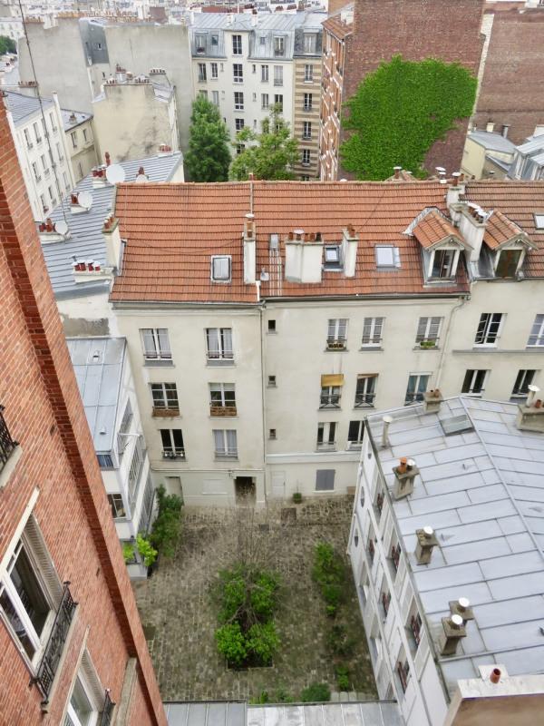 Rental apartment Paris 18ème 540€ CC - Picture 1