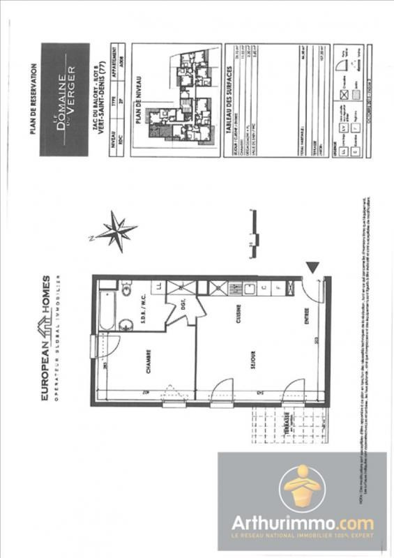 Location appartement Vert st denis 713€ CC - Photo 2