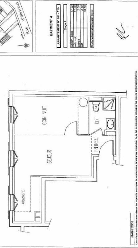 Sale apartment Orry la ville 139000€ - Picture 7