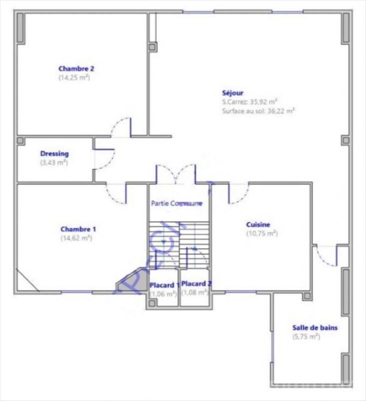 Sale apartment Asnieres sur seine 525000€ - Picture 2