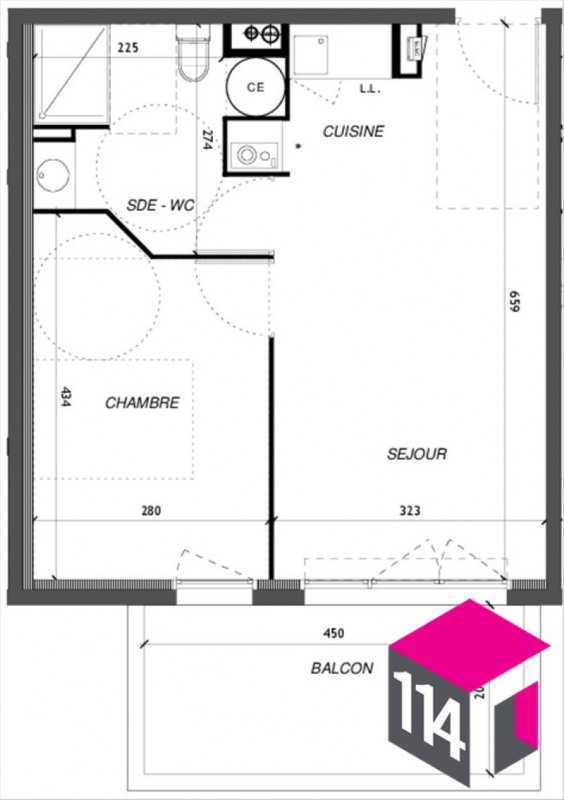 Vente appartement Baillargues 159700€ - Photo 4