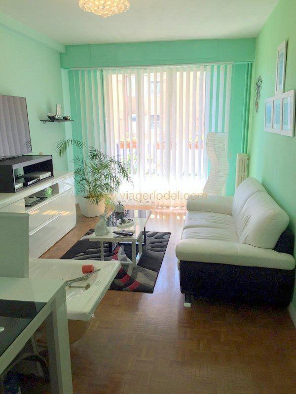 Vendita nell' vitalizio di vita appartamento Nice 62500€ - Fotografia 5