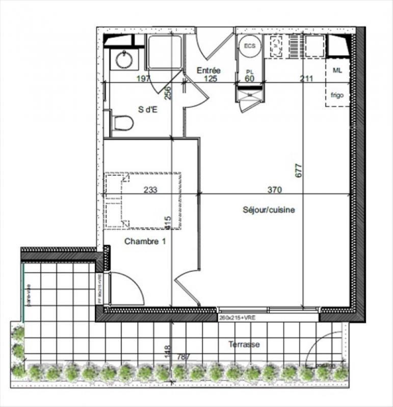 Sale apartment Auray 134000€ - Picture 2