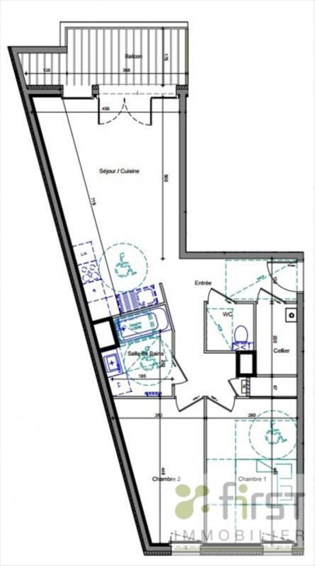 Vente appartement Annemasse 303000€ - Photo 2