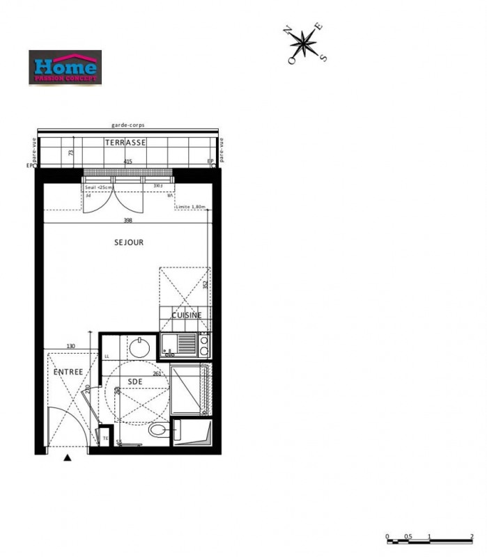 Vente appartement Rueil malmaison 205000€ - Photo 5