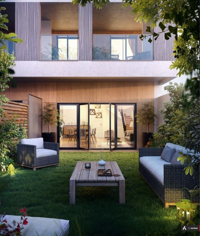 Le 10 acacias programme immobilier neuf issy les moulineaux propos par - Plu issy les moulineaux ...