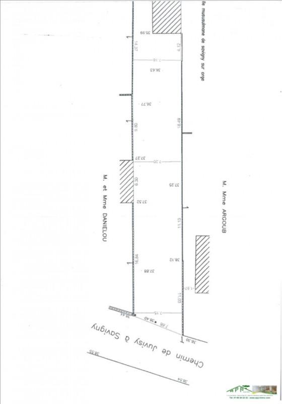 Sale site Savigny sur orge 315000€ - Picture 1