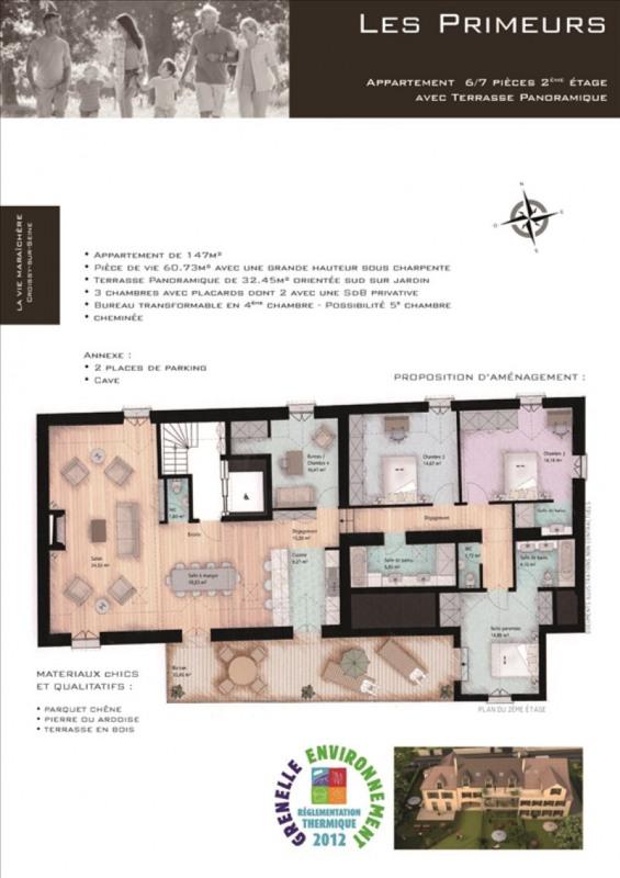 Vente appartement Croissy sur seine 950820€ - Photo 3