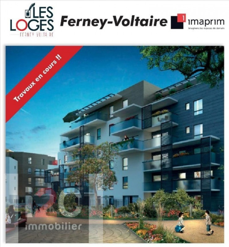 Investment property apartment Ferney voltaire 450 000€ - Picture 1