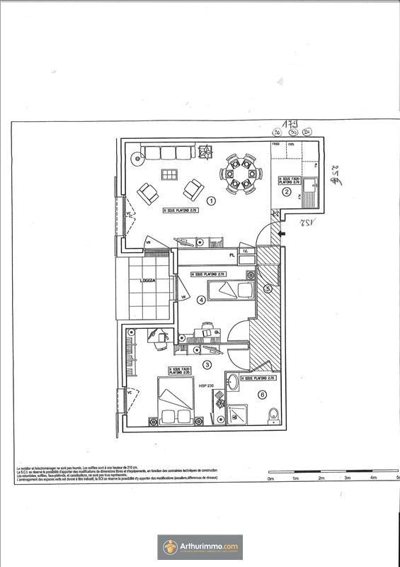Vente appartement Eaubonne 296000€ - Photo 6