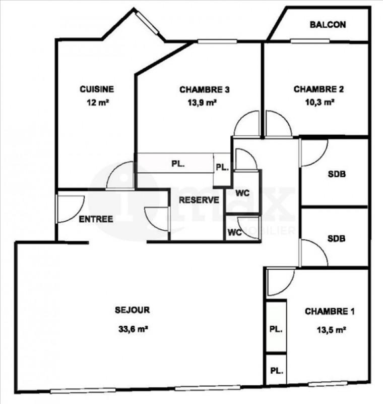 Sale apartment Levallois perret 899000€ - Picture 6