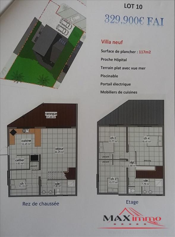 Vente maison / villa St pierre 329900€ - Photo 1