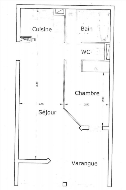 Vente appartement Sainte clotilde 59 000€ - Photo 1