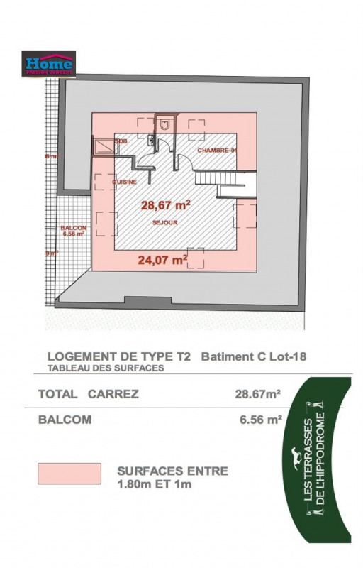 Sale apartment Rueil malmaison 208659€ - Picture 2
