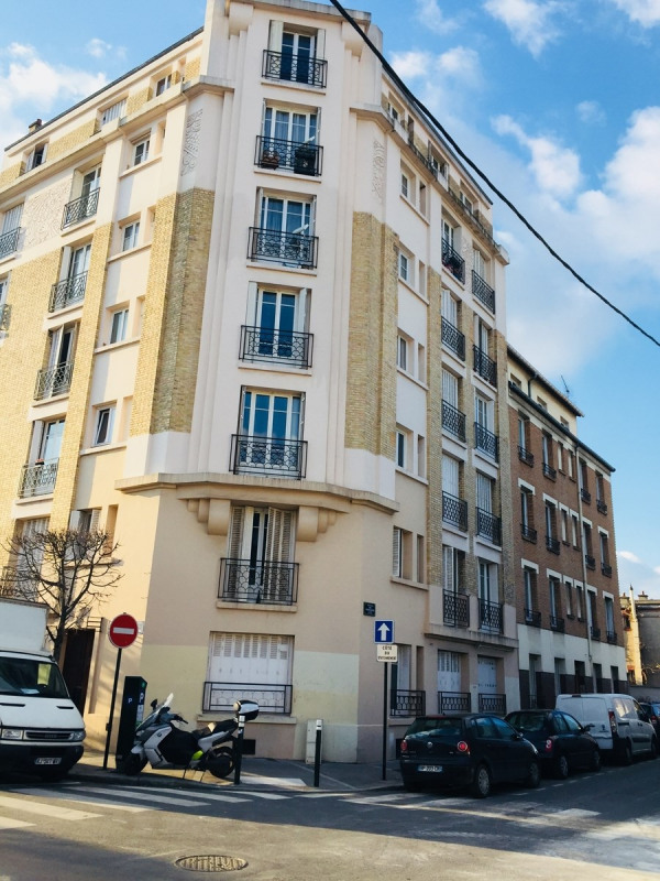 Rental apartment La garenne colombes 690€ CC - Picture 1