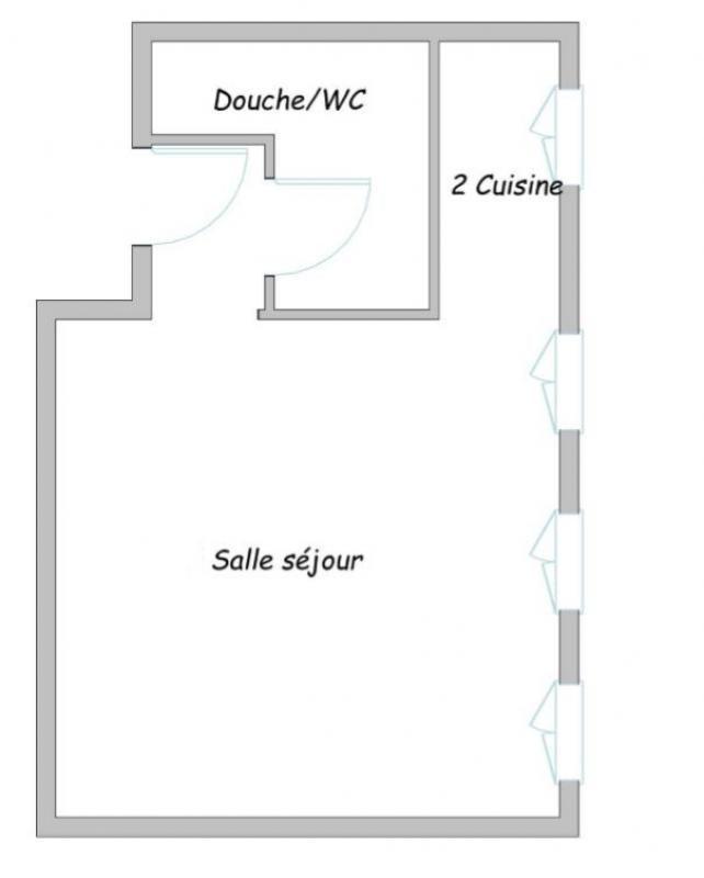 Vente appartement Paris 3ème 309000€ - Photo 7