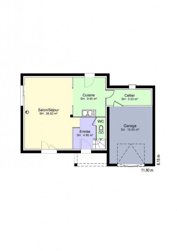 """Modèle de maison  """"Modèle de maison 5 pièces"""" à partir de 5 pièces Calvados par MAISON ISO CONFORT"""