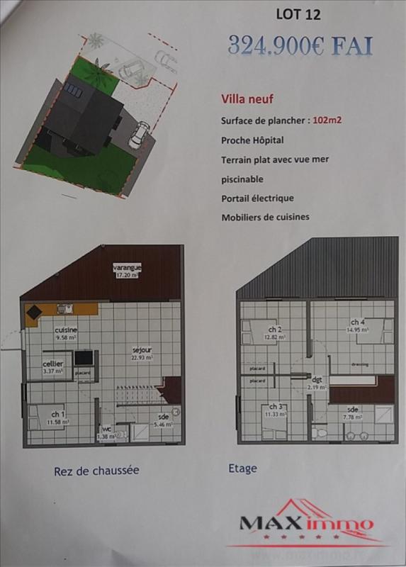Vente maison / villa St pierre 324900€ - Photo 1