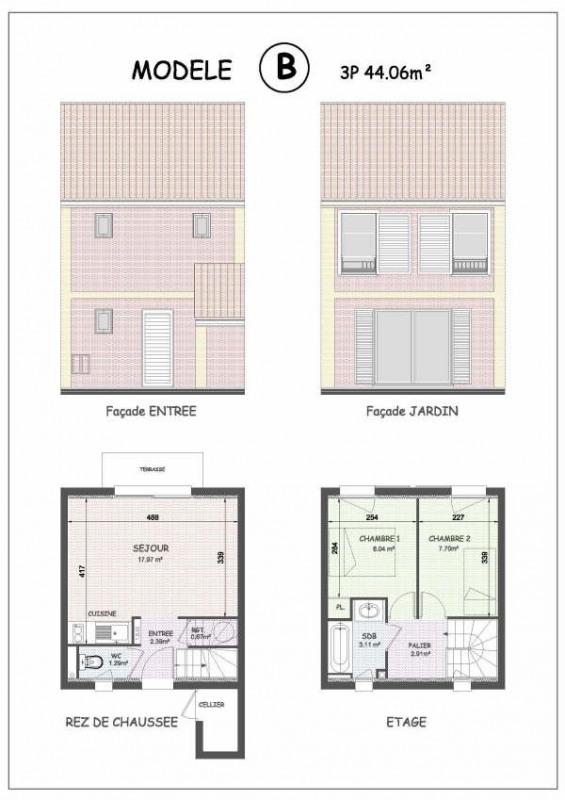 Vente maison / villa Cayeux sur mer 117000€ - Photo 3