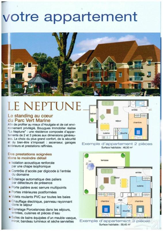 Vente appartement Houlgate 119000€ - Photo 3