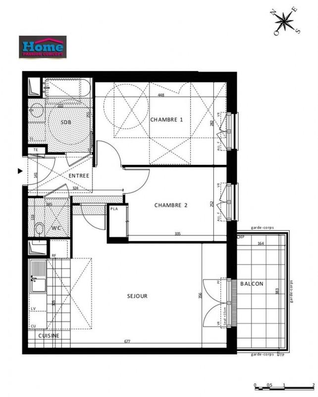 Sale apartment Rueil malmaison 501000€ - Picture 5