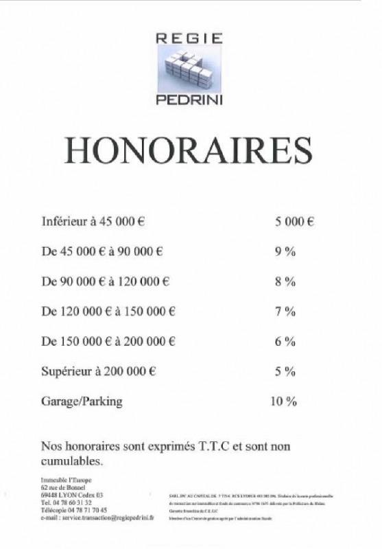 Vente appartement Villeurbanne 87200€ - Photo 2