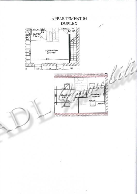 Sale apartment Coye la foret 210000€ - Picture 3