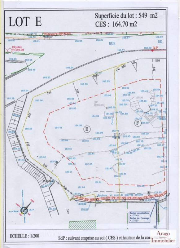Vente terrain Opoul perillos 69500€ - Photo 2