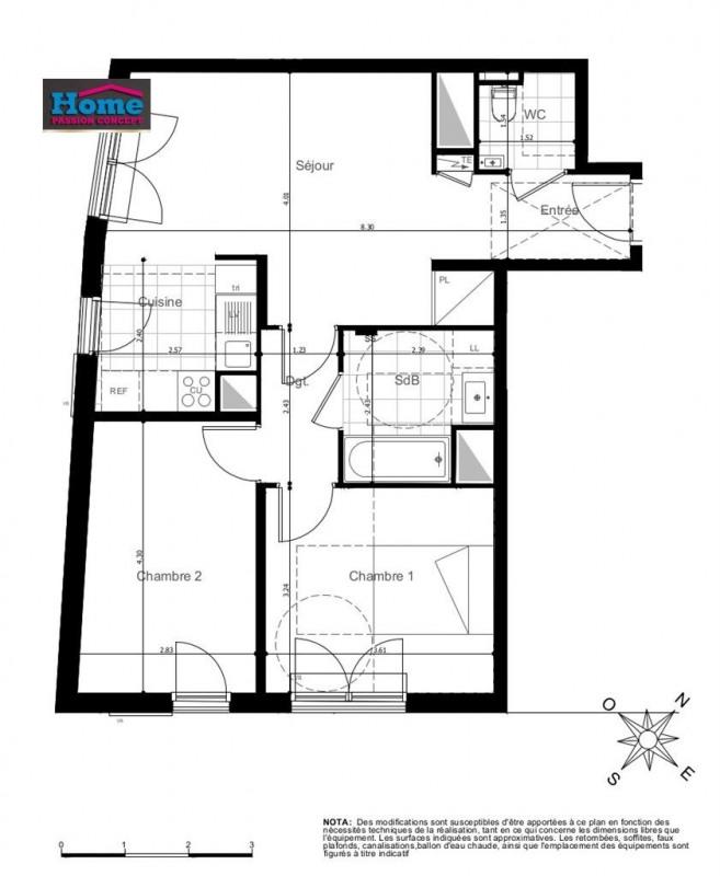 Sale apartment Rueil malmaison 392000€ - Picture 1