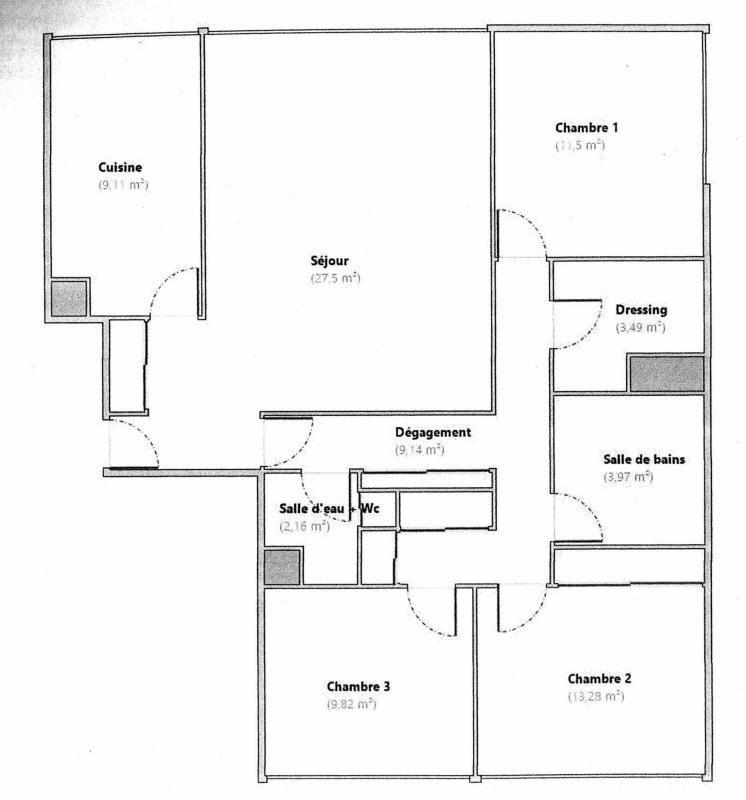 Vente appartement Creteil 352000€ - Photo 1