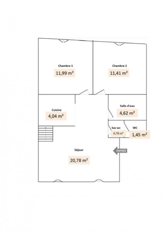 Rental apartment Givors 503€ CC - Picture 2