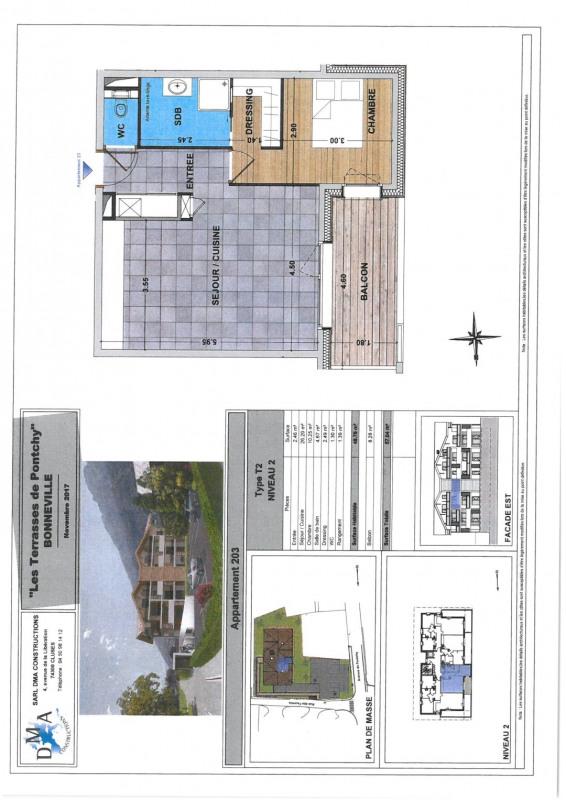 Vente appartement Bonneville 169000€ - Photo 2