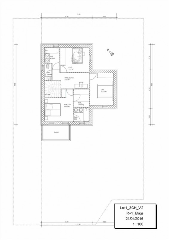 Vente maison / villa Orgeval 417162€ - Photo 2