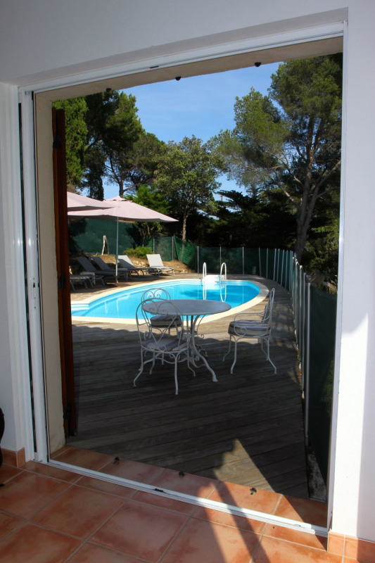 Vacation rental house / villa Cavalaire sur mer 1 500€ - Picture 12