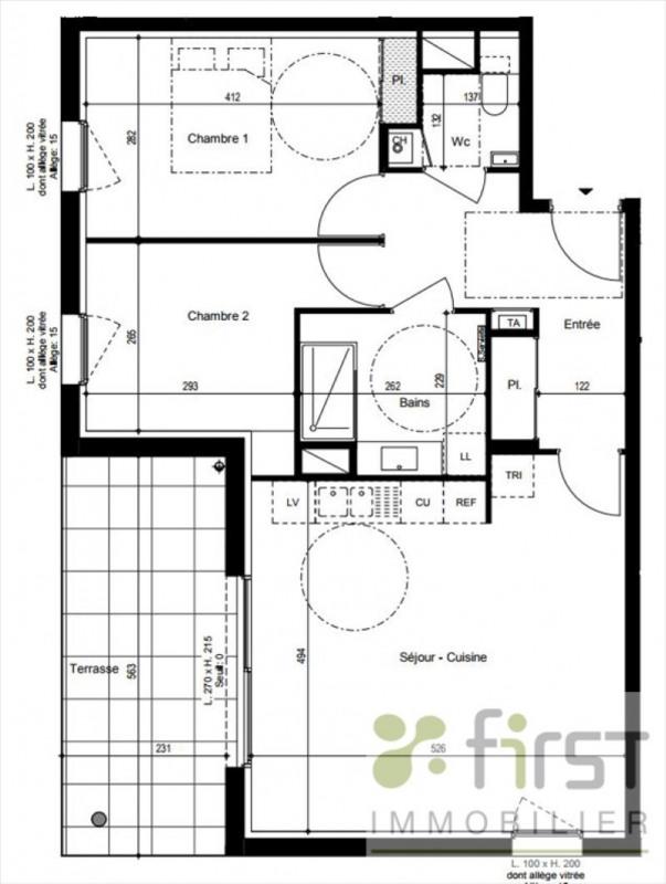 Vente appartement Vetraz monthoux 365000€ - Photo 2