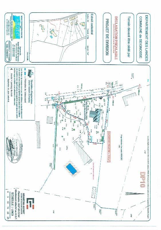 Vente terrain Seignosse 243800€ - Photo 3