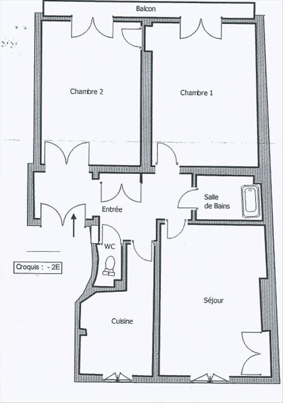 Sale apartment Paris 15ème 682000€ - Picture 9