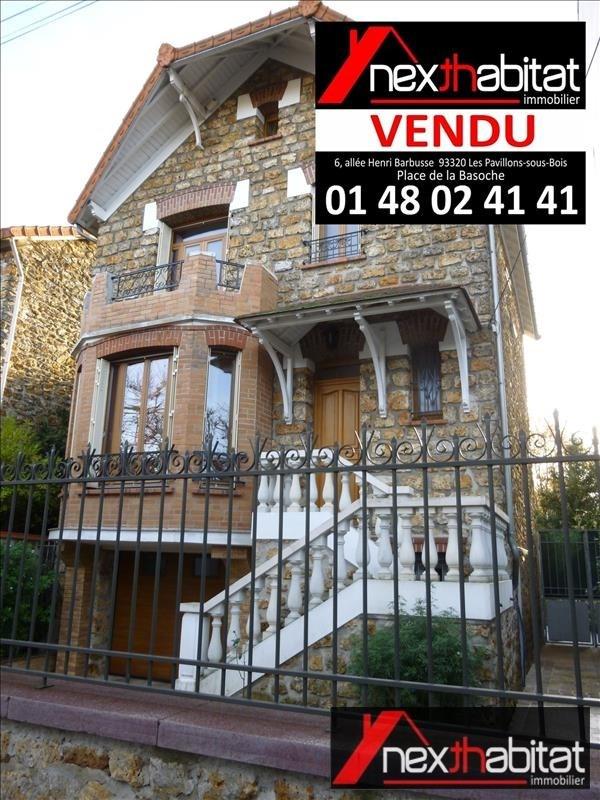 Vente maison / villa Les pavillons sous bois 478000€ - Photo 1