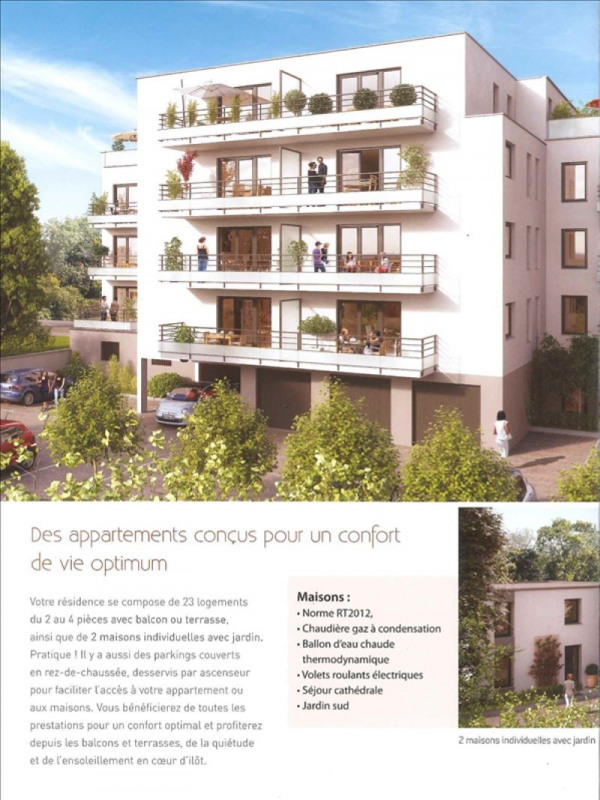 Produit d'investissement appartement Bethune 194 000€ - Photo 1