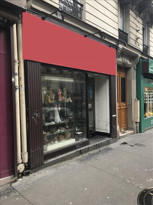 Locação loja Paris 11ème 1100€ HT/HC - Fotografia 1