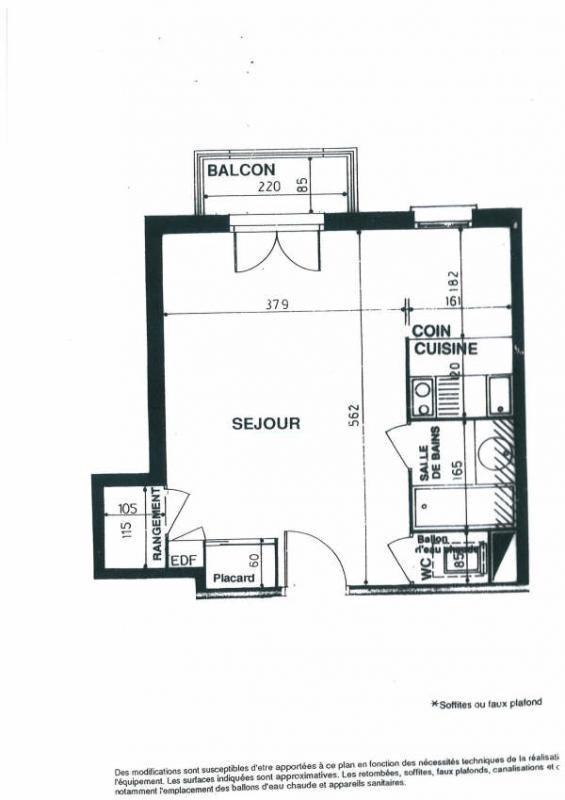 Alquiler  apartamento Courbevoie 705€ CC - Fotografía 5