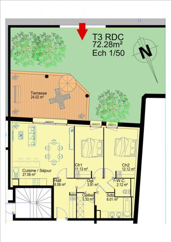 Vente appartement Albi 260000€ - Photo 3