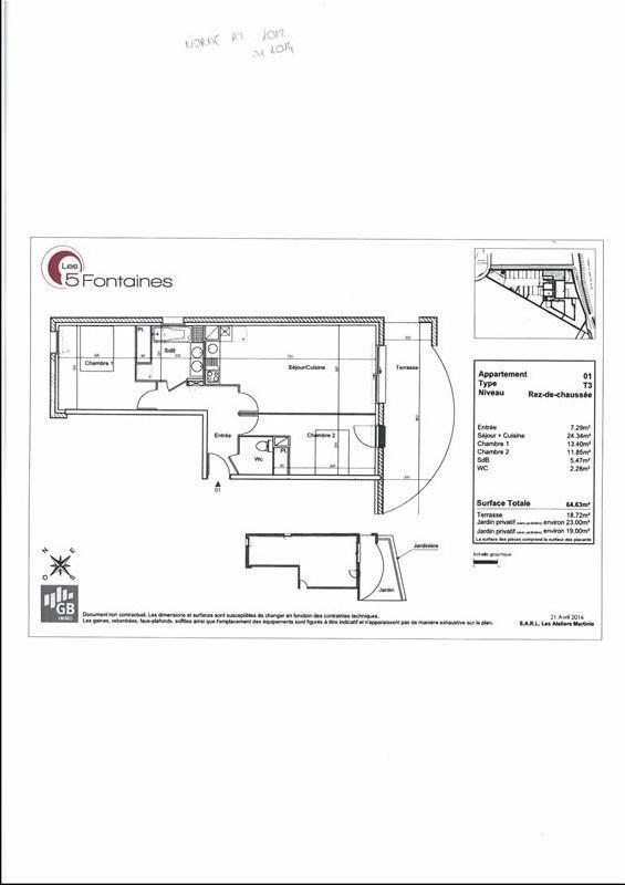 Rental apartment Quint 760€ CC - Picture 2
