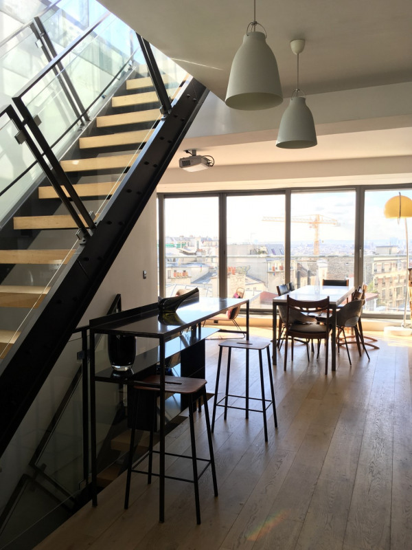 Deluxe sale apartment Paris 19ème 2080000€ - Picture 3