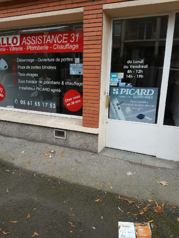 Location local commercial Toulouse 425€ +CH - Photo 1