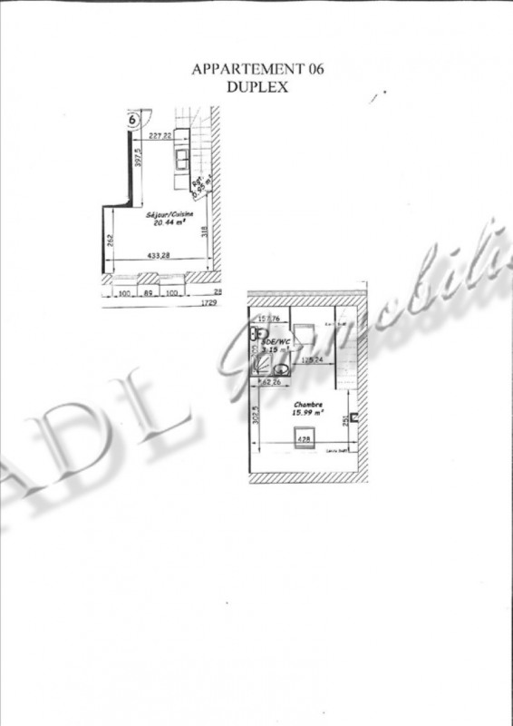 Sale apartment Coye la foret 170000€ - Picture 3