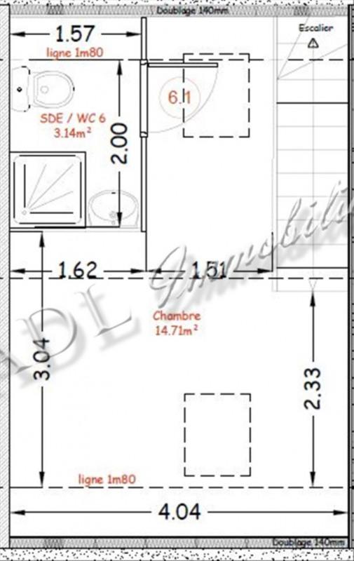 Sale apartment Coye la foret 160000€ - Picture 5