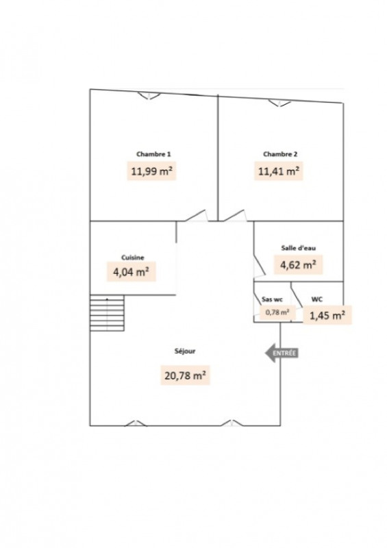 Location appartement Givors 503€ CC - Photo 2